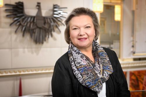 Portraitaufnahmen Dritte Nationalratspräsidentin Anneliese Kitzmüller (F)